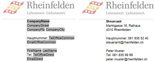 Office Template Tools Einfach Per Klick Kunden Und